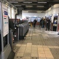 Photo taken at Upton Park London Underground Station by Paul F. on 4/29/2017