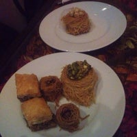 Photo taken at Al Melook Sweets by Matache C. on 9/17/2013