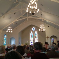 Photo taken at St. Christopher's Episcopal Church by Sally J. on 8/18/2013