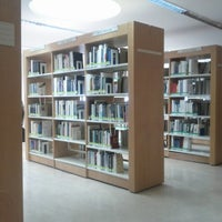 Photo taken at ISEG - Biblioteca Francisco Pereira de Moura by Bruno F. on 4/16/2014