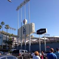 Photo taken at Dodger Stadium by Ryan W. on 7/13/2013
