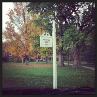 Photo taken at McBride Hall by Daniel S. on 10/28/2013
