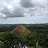 Photo taken at The Chocolate Hills by Em P. on 4/19/2013