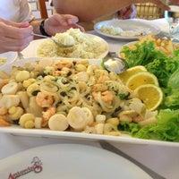 Photo taken at Antônio's Restaurante by Liane F. on 2/1/2013