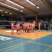 Photo taken at Volley Asse Lennik by Gillian S. on 1/16/2016