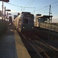 Photo taken at MBTA Science Park / West End Station by Yosuke O. on 7/26/2014