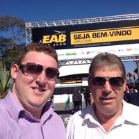 Photo taken at Expo Aero Brasil by Rafael R. on 7/13/2013