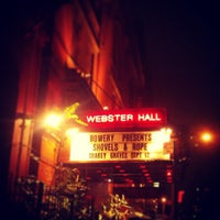 Photo taken at Webster Hall by Meghan L. on 9/13/2013