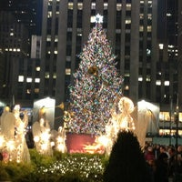 Photo taken at Rockefeller Center by Jen O. on 1/6/2013