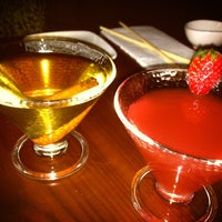 Photo taken at HaChi Restaurant & Lounge by Jen O. on 1/6/2013