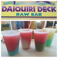 Photo taken at Daiquiri Deck Raw Bar by Jen O. on 4/28/2013