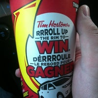 Photo taken at Tim Hortons by Jonathan C. on 3/16/2013