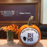 Photo taken at Berkshire Hathaway HomeServices Verani Realty by Monika M. on 10/24/2016