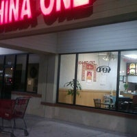 Photo taken at China One by Christine H. on 1/20/2013