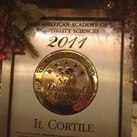Photo taken at Il Cortile by Kathy M. on 1/29/2013