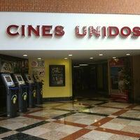 Das Foto wurde bei Cines Unidos von Daniel N. am 10/14/2012 aufgenommen