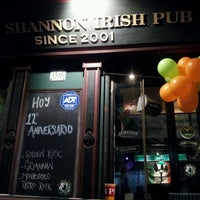 Photo taken at The Shannon Irish Pub by Lorena X. on 4/18/2013