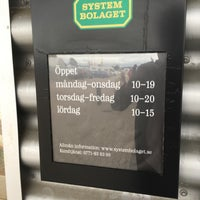 Photo taken at Systembolaget by mikael on 9/4/2017