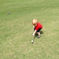 Photo taken at Elkins Lake Golf Course by Jeremy K. on 4/21/2013