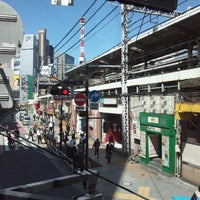 Photo taken at Shimbashi Station by Hideo I. on 4/8/2013