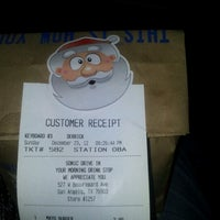 Photo taken at SONIC Drive In by Rachel B. on 12/24/2012