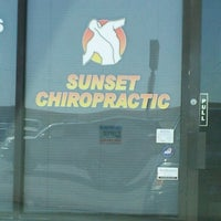 Photo taken at Sunset Chiropractic by Rachel B. on 4/22/2013