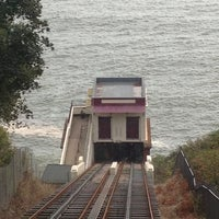 Photo taken at Babbacombe Cliff Railway by Franky C. on 10/7/2012