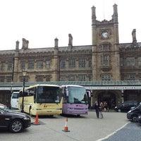 Photo taken at Shrewsbury Railway Station (SHR) by David K. on 6/22/2013