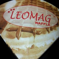 Photo taken at Leomag Waffle by Syafar F. on 4/20/2013