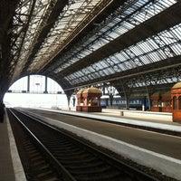 Photo taken at Lviv Railway Station by Katherine C. on 4/26/2013