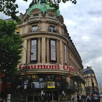 Photo taken at Gaumont Opéra (côté Capucines) by Mike on 6/24/2013