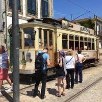 Photo taken at Porto City Tram Tour Line 1 by Anja :. on 5/8/2017
