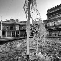 Photo taken at Plaza de España by Xara on 9/24/2013