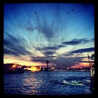 Photo taken at Besiktas - Uskudar Boat by Funda K. on 1/5/2013