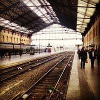 Photo taken at Marseille Saint-Charles Railway Station by Matt H. on 6/1/2013