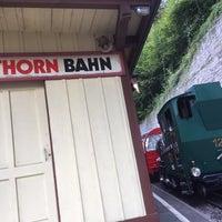 Photo taken at Brienz–Rothorn Bahn by François G. on 9/12/2016