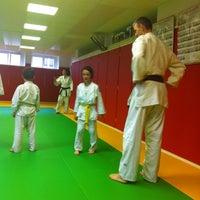 Photo taken at Judo Club Bessenois by Elena W. on 5/10/2013