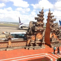 Photo taken at Ngurah Rai International Airport (DPS) by KJ S. on 7/22/2013