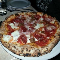 Photo taken at DOUGH Pizzeria Napoletana by Kristin D. on 4/26/2013