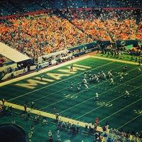 Photo taken at Hard Rock Stadium by Thiago B. on 10/20/2013