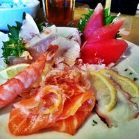 Photo taken at 9 Style Sushi by Kare A. on 1/16/2014