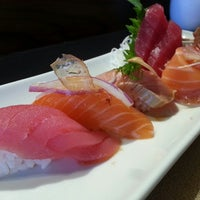 Photo taken at 9 Style Sushi by Kare A. on 1/4/2014