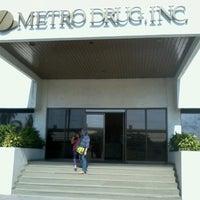 Photo taken at MetroDrug Inc by Reedha Andreada J. on 12/8/2012