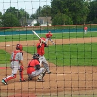 Photo taken at Wabash College Baseball Stadium by Shelly Marie B. on 9/15/2012