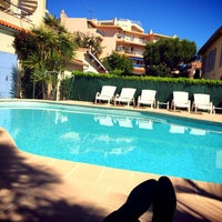 Photo taken at Hotel Beau Site Cap d'Antibes by Chintan K. on 5/22/2015
