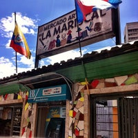 Foto tirada no(a) Mercado Artesanal La Mariscal por Alberto_Blanco em 1/22/2013