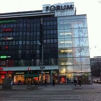 Photo taken at Kauppakeskus Forum by Vera B. on 1/6/2013