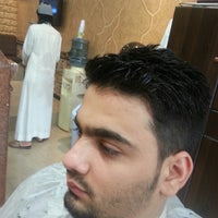 Photo taken at Turkish Barbershop by mehmetg T. on 7/28/2014