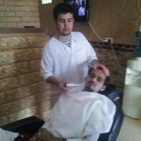 Photo taken at Turkish Barbershop by mehmetg T. on 5/20/2013