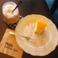 Photo taken at PH1b coffee bar by Yosapat on 6/5/2016